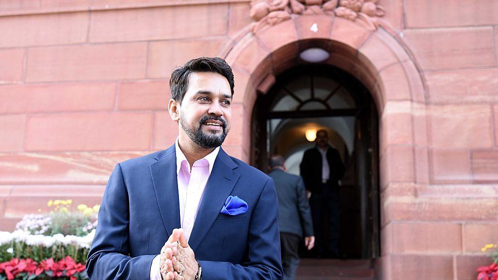 Anurag Thakur caught SC, bowled Lodha