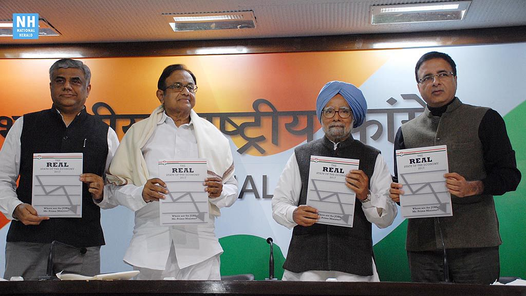 Congress releases alternative 'Economic Survey'  a day before