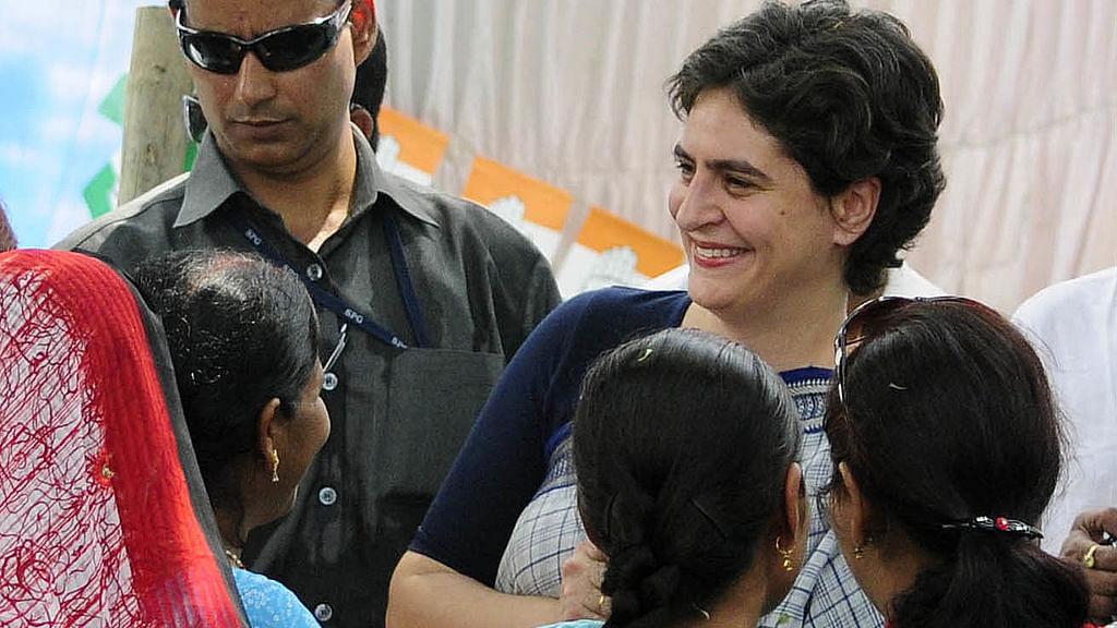 Priyanka laughs off BJP leader's sexism; Congress demands apology