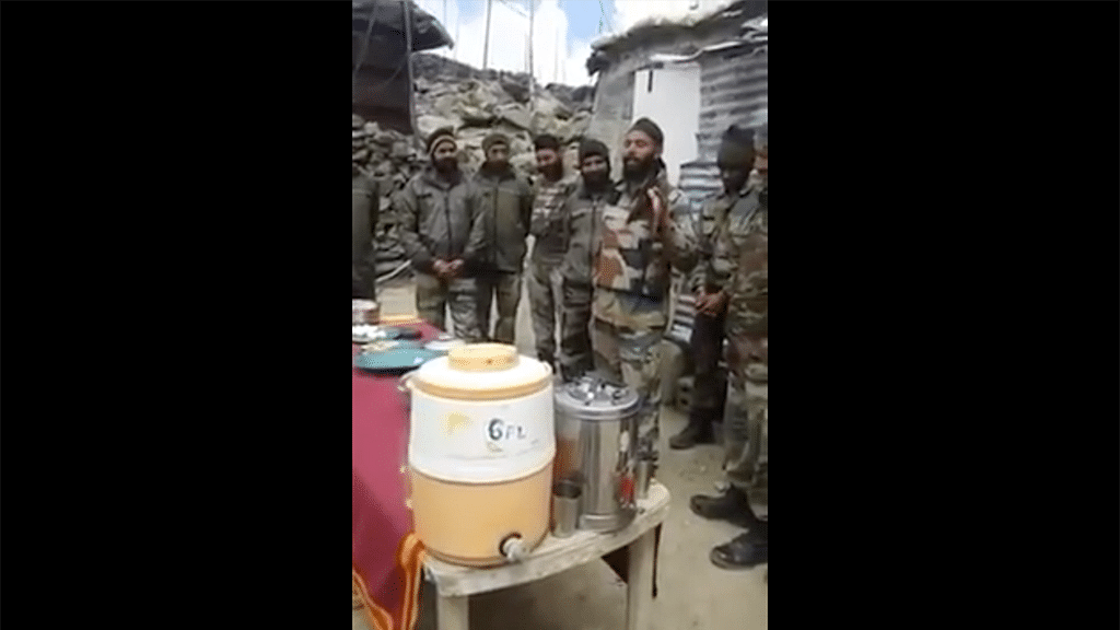 WATCH: A soldier airs his grievances through a Punjabi song