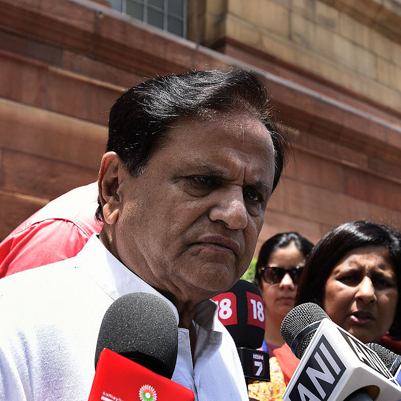 Congress leader Ahmed Patel (Photo courtesy- social media)