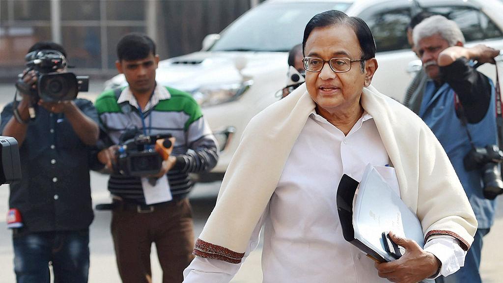 "Chidambaram slams Modi Govt's ""terrible"" demonetisation decision"