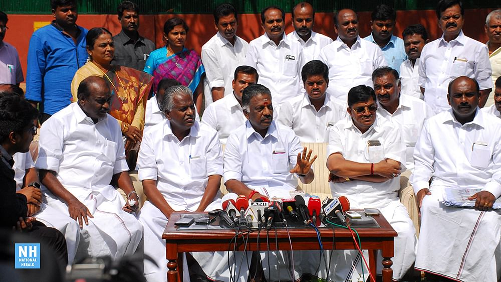 OPS camp wants EC to conduct AIADMK's internal poll