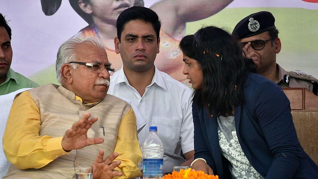 Medal-winning wrestler Sakshi Malik lashes out at Haryana govt