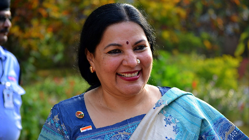New Nalanda Uni VC had written on Pratibha Patil's leadership