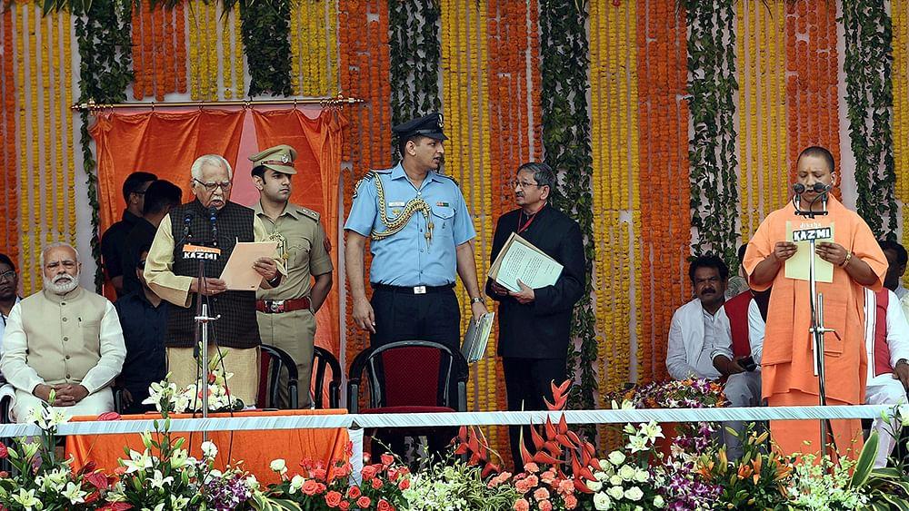 Strident Hindutva in Uttar Pradesh designed to divert attention