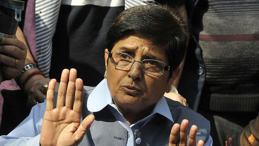 Kiran Bedi indicts BJP for 'stinking, jammed  Delhi'