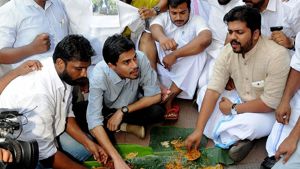 Kerala holds beef fests to protest centre's ban