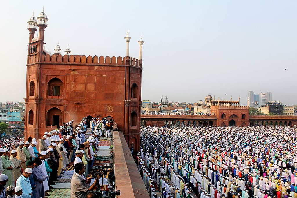 Pictures: Eid-ul-Fitr celebrations from across India