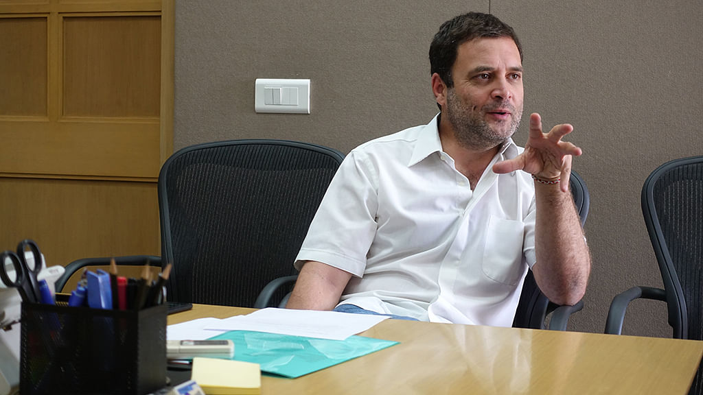 Unemployment leading to anger, hate & unrest, says Rahul Gandhi
