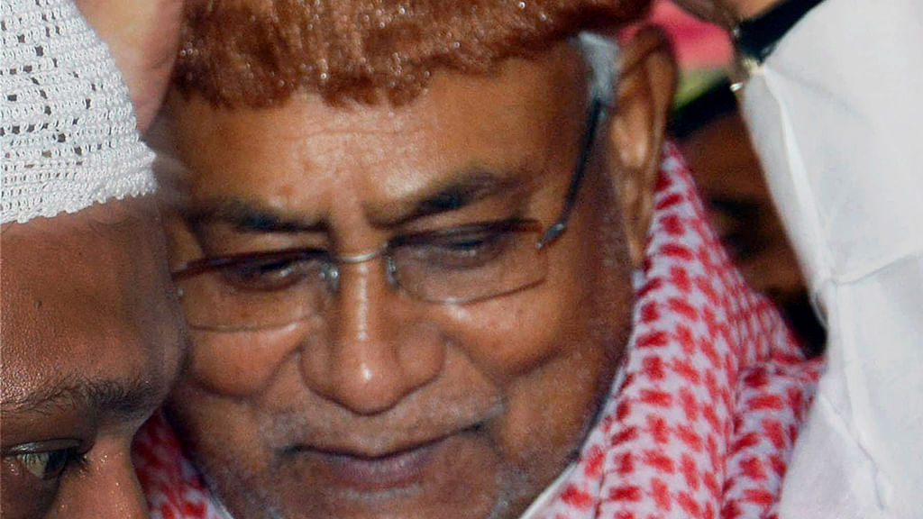 Nitish did support Shekhawat though he was 'set to lose'