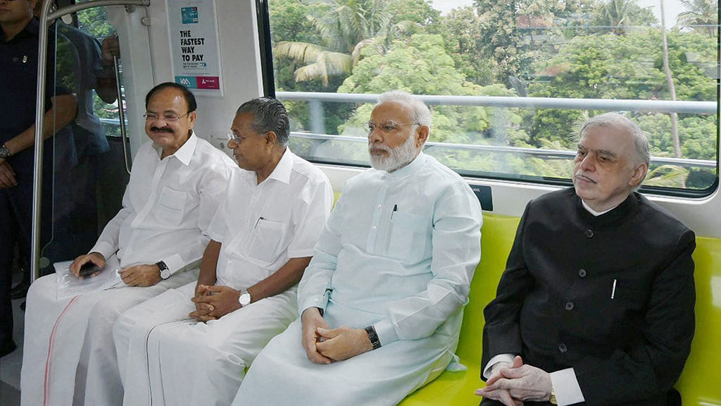 Modi hails UPA's Kochi Metro project as 'futuristic infra'