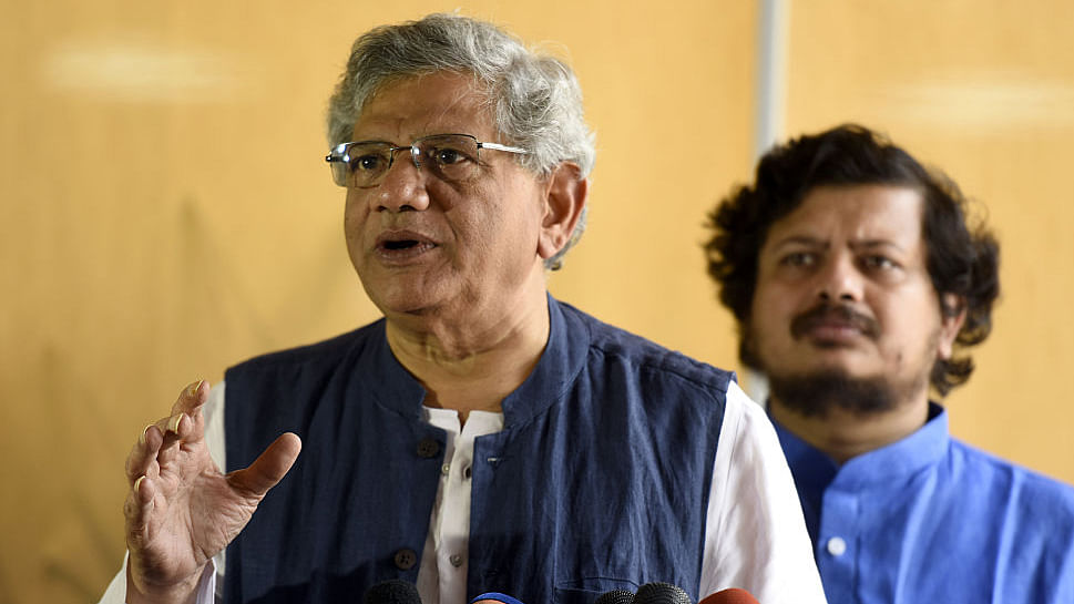Will farmer suicides too become fashionable, Yechury asks Venkaiah