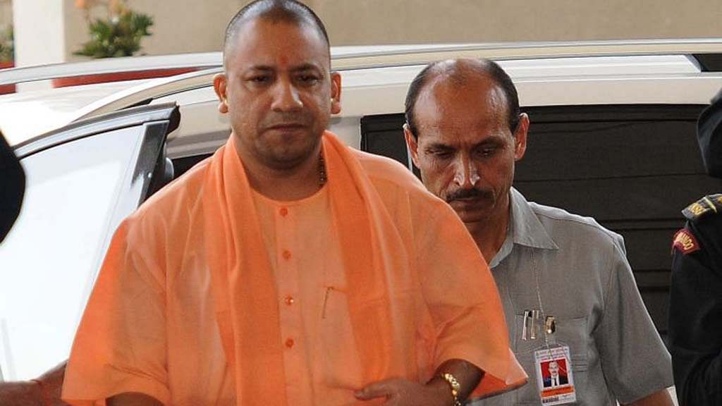 Yogi completes 100 days, refuses to take questions at press meet