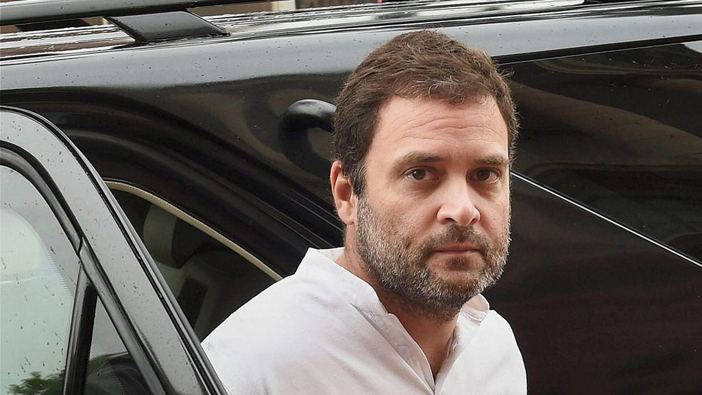 Modi's policies burning Kashmir: Rahul Gandhi