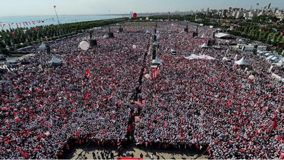 Media ignore 'Gandhi' Kemal's million plus rally in Istanbul