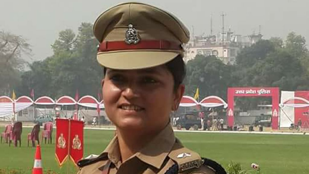 UP govt saves BJP leaders' 'pride', transfers lady cop