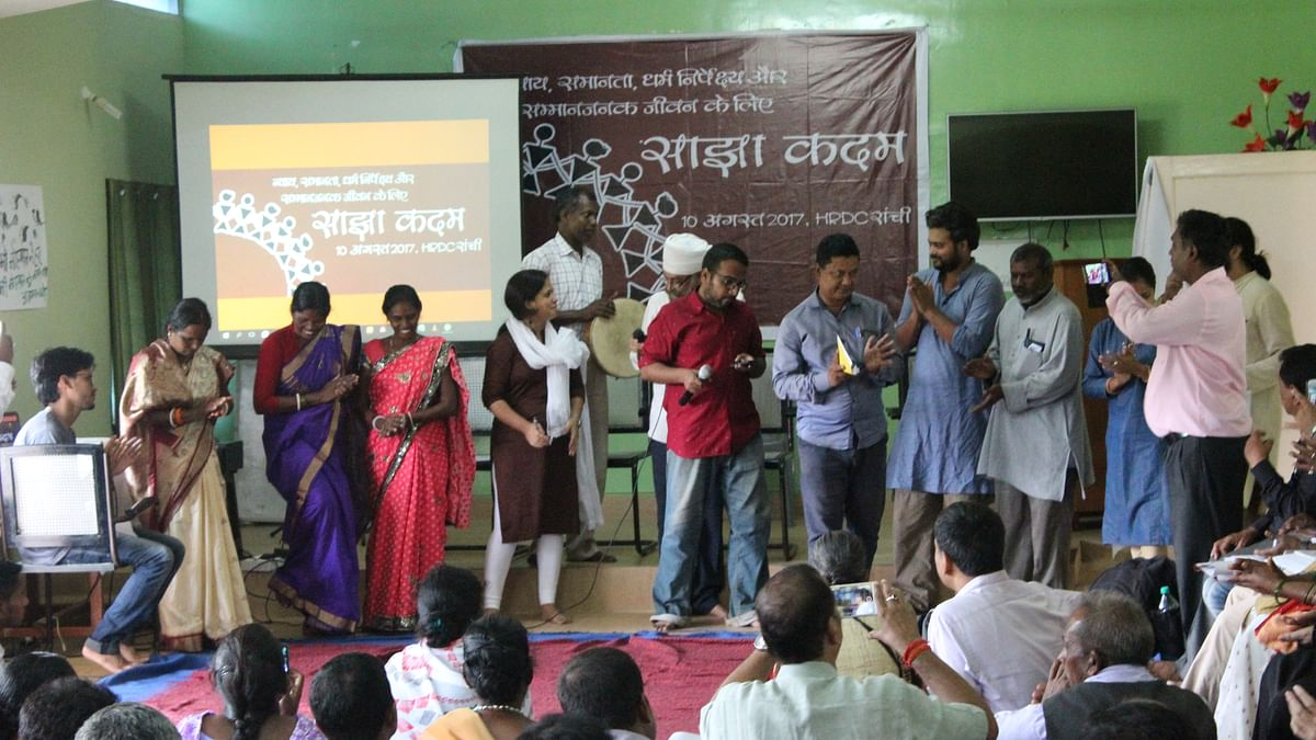 Citizens, organisations come together to combat communalism in Jharkhand