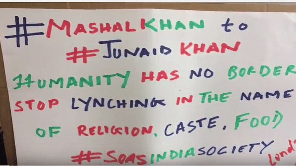 Protest on foreign soil is not conspiracy against India