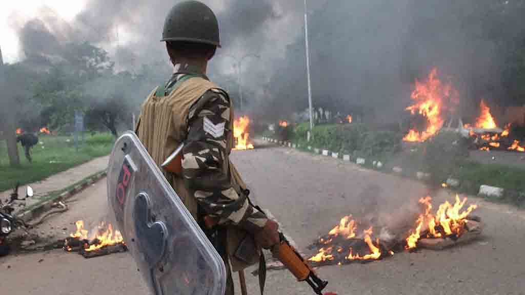 Uneasy calm prevails a day after mayhem in Panchkula, locals express anguish, anger