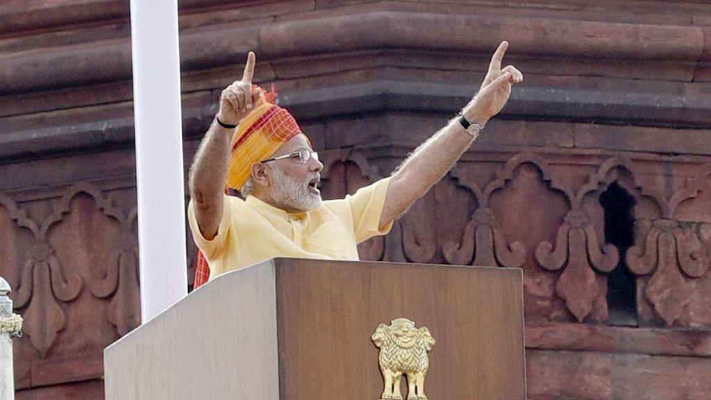 Reading between the lines: Modi's 2017 Independence Day speech