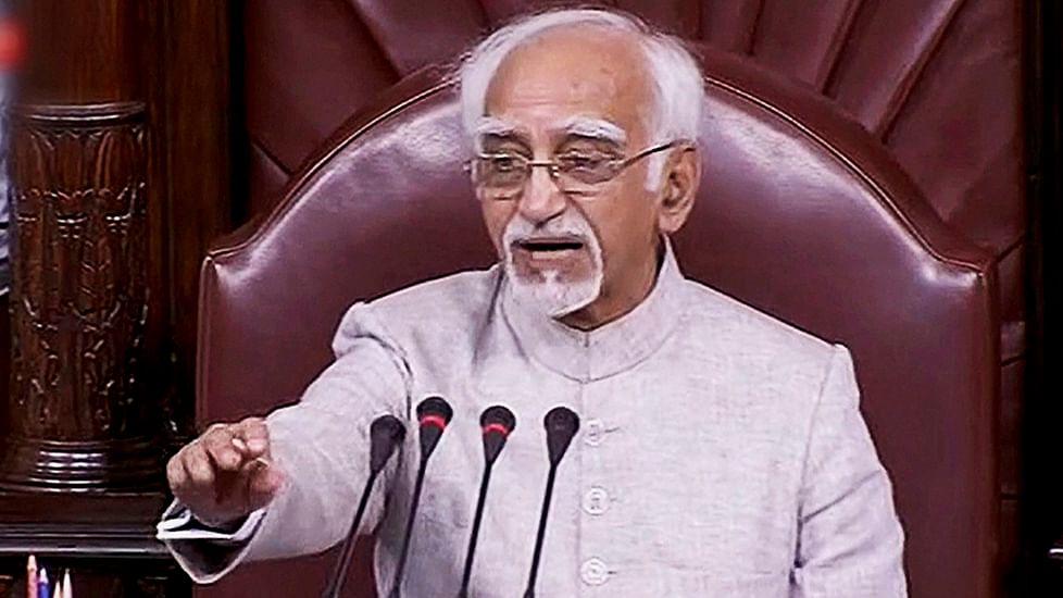 Sabka saath should mean 'Sabka saath': Hamid Ansari