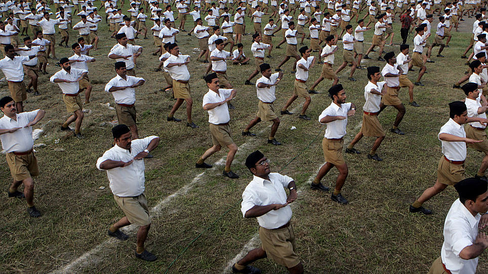 During the Quit India Movement, RSS was in bed with Muslim League