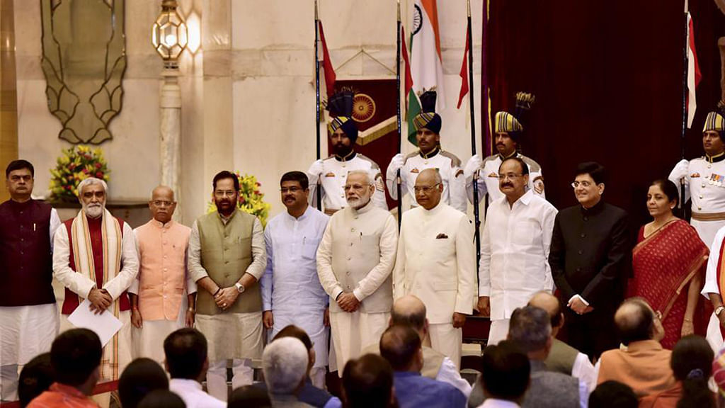 From the PM to the King: How the Cabinet reshuffle helped Modi