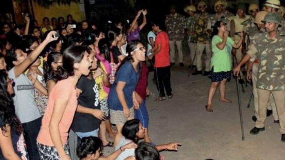 Are the students anti-national in Yogi Raj?