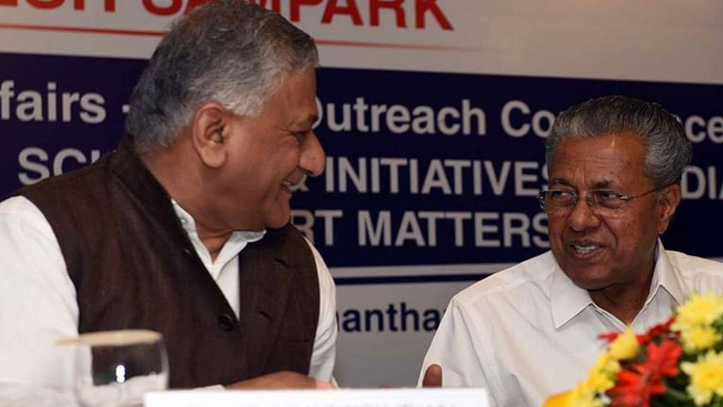 """Kerala CM hits out at RSS for trying to impose """"Hindu, Hindi, Hindusthan"""""""