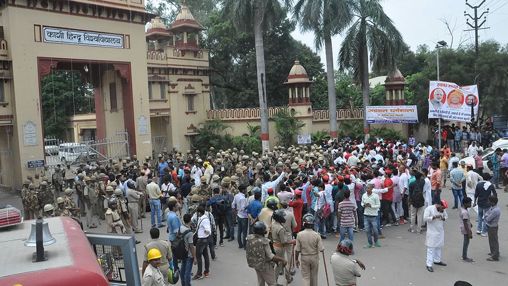 BHU: VC downplays the incident, commissioner blames Uni for mishandling the situation