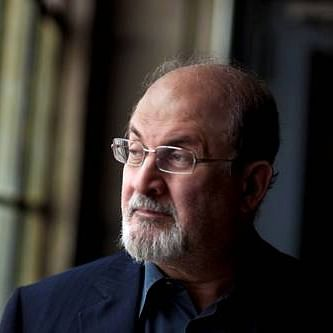 In his 13th novel, Salman Rushdie tells the tale of a wealthy, pretentious Indian who has moved into a mansion in downtown Manhattan (Photo Courtesy: Twitter/Salman Rushdie)