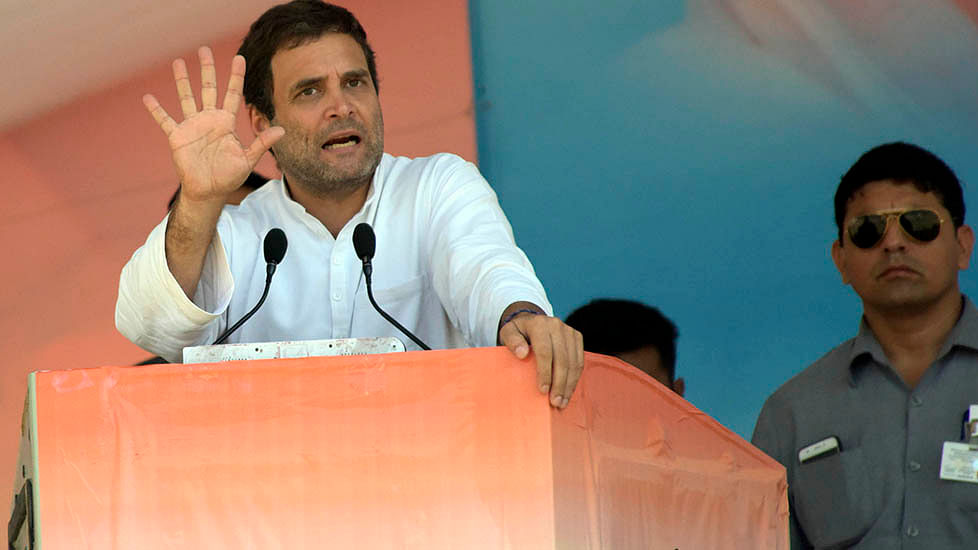 Rahul taunts BJP on 'Beta Bachao' while Smriti, Shah lambast Cong for no development in Amethi