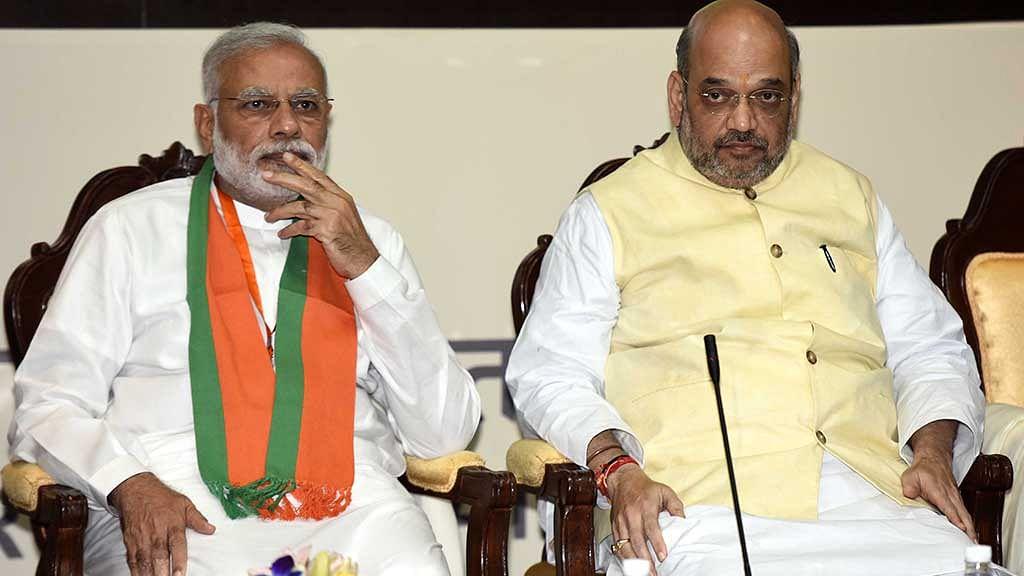 Gujarat: PM Modi, BJP chief Amit Shah posters blackened