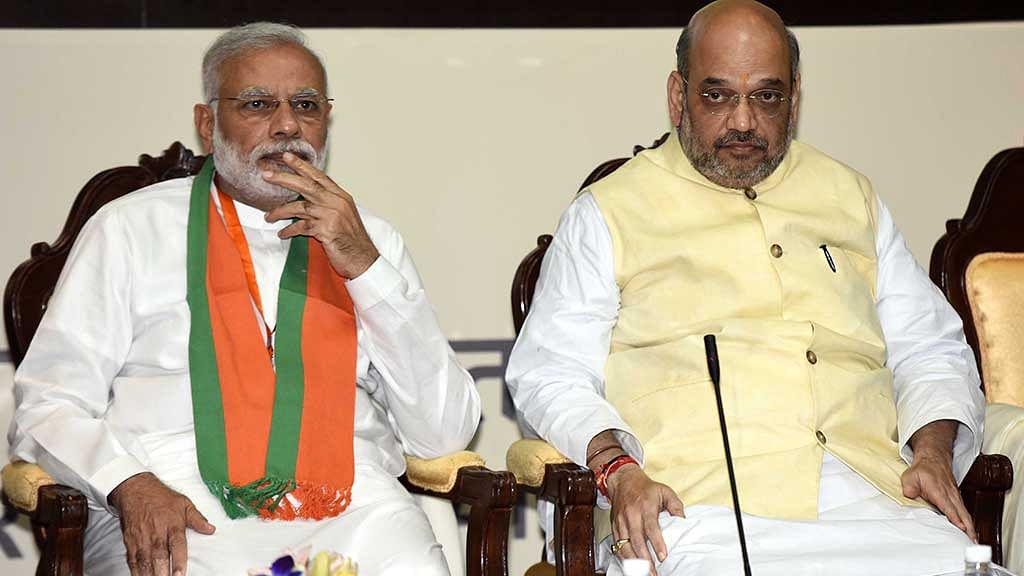 Gujarat: PM Modi, BJP chief Amit Shah posters blackened