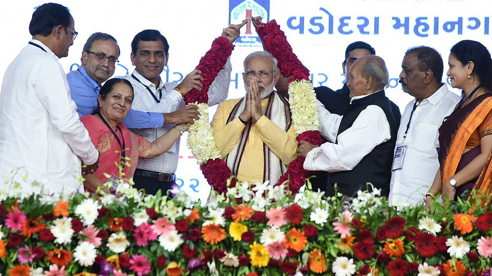 Is the PM holding out a threat to Gujaratis?