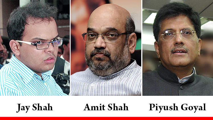 Amit Shah's son's vikas: Piyush Goyal has much to answer