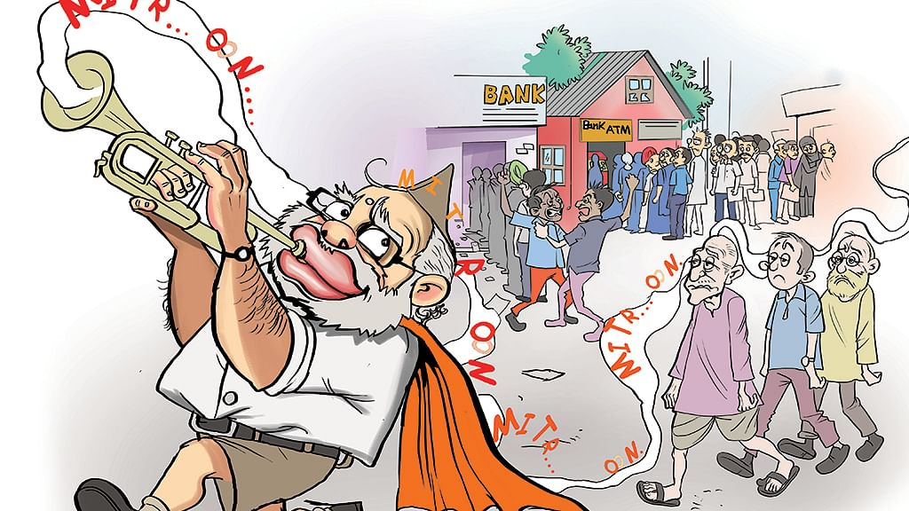 Demonetisation: The great Indian hope trick