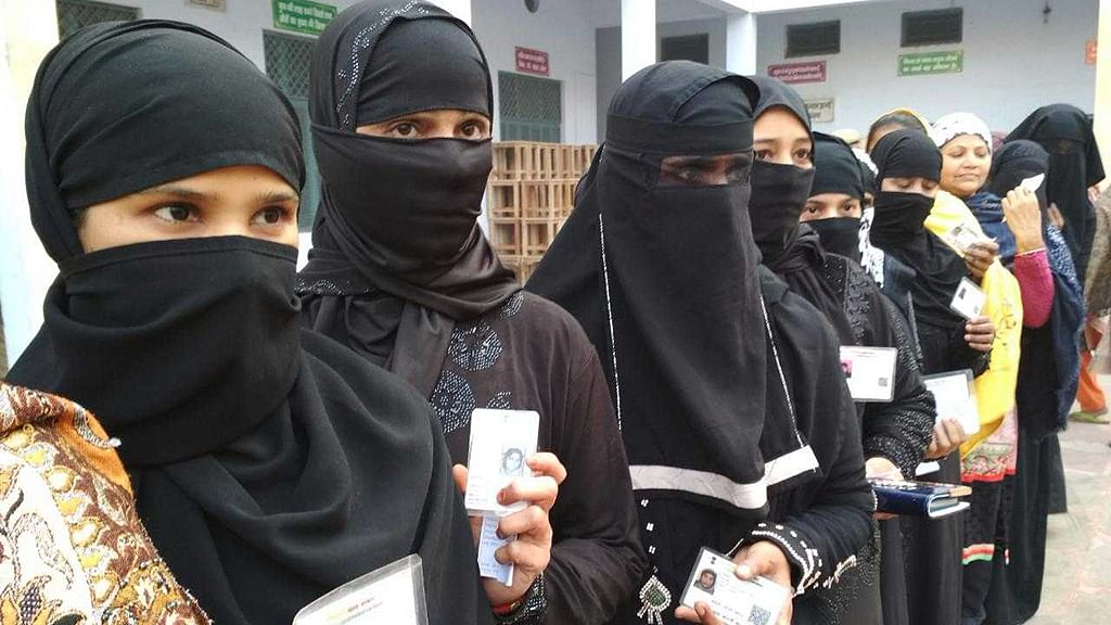 Protest at UP civic polls in Baghpat, Muslim women annoyed
