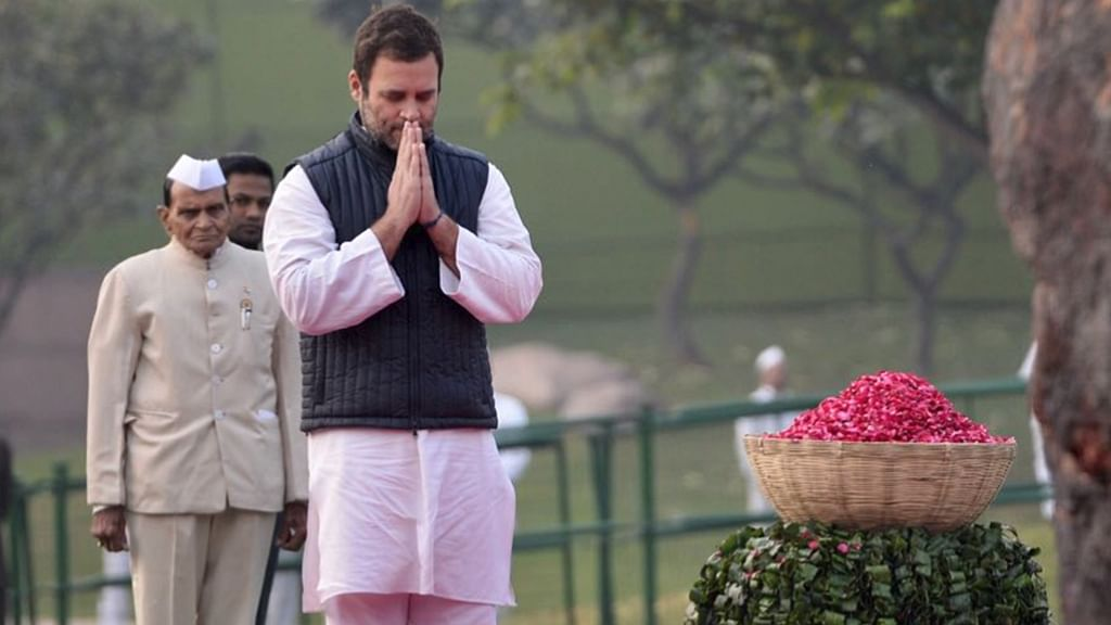 Rahul Gandhi to accept huge Indian flag 'insulted' by Gujarat CM