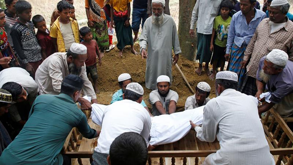 6,700 Rohingyas killed in Myanmar: MSF Report