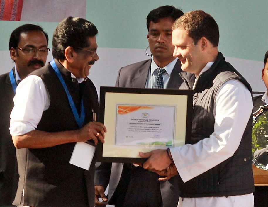 Photos: Rahul Gandhi takes over as the new President of the Congress