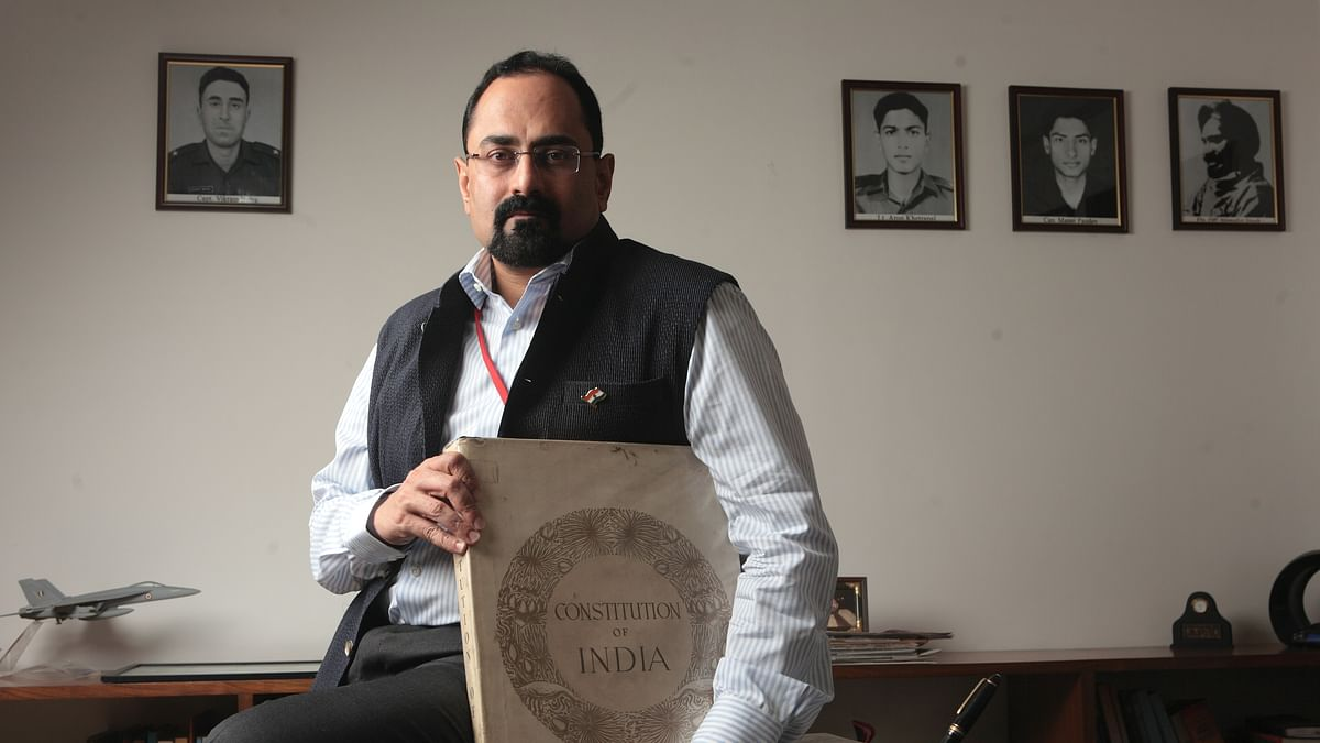 Rajeev Chandrasekhar's company got greenfield Vijaydurg port without tender for 50 years