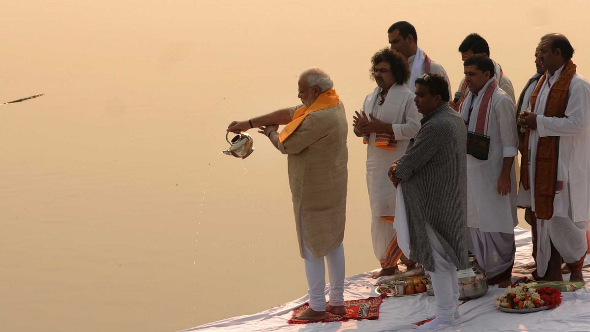 PM Modi fails to clean up his 'mother' Ganga