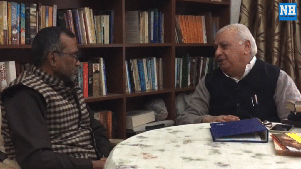 Former Union minister Arif Mohammad Khan reflects on the events of Dec 6, 1992