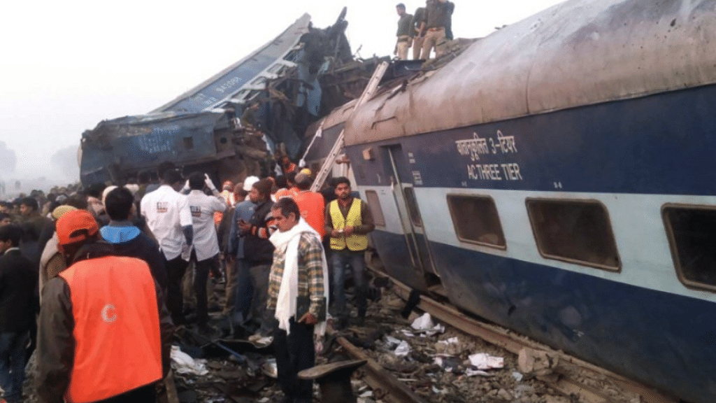 As PM Modi prepares for Bullet train,  63 train accidents rocked 2017
