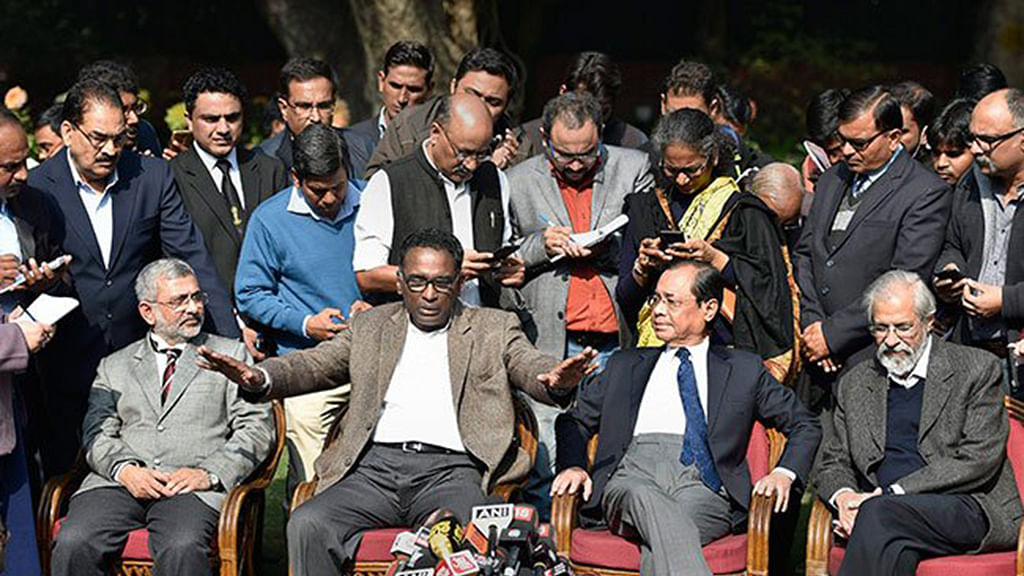 Judiciary: did the Government light the fire?