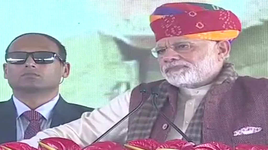 PM Modi once again re-inaugurates a project already launched by  Congress