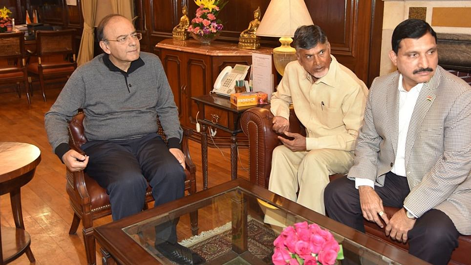 Andhra CM 'pained' over NITI Aayog VC's remarks on Amaravati