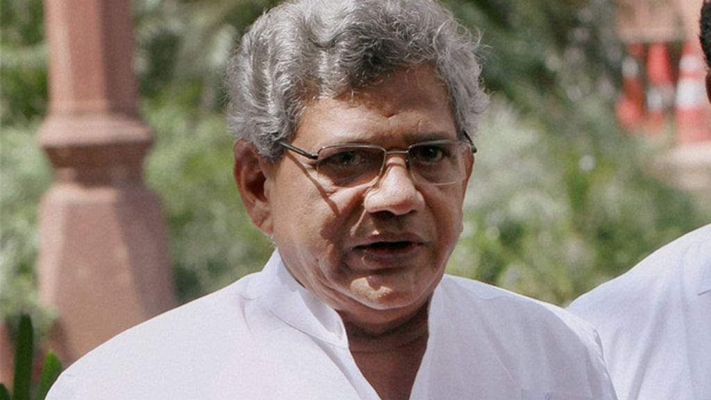 Yechury accuses Modi govt of crony capitalism, calls it a 'circus'